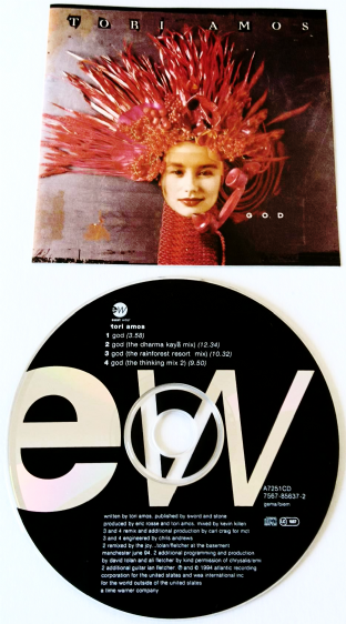 Tori Amos ‎- God (CD Single) (EX-/EX-)